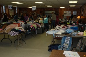 April 2013 Rummage Sale (Opening Night)