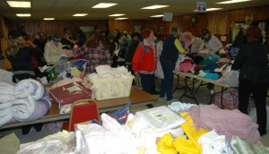 Opening Night (Spring 2014 Rummage Sale)