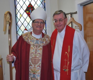December 14th 2014 Visitation by Bishop William Stokes (Confirmation)