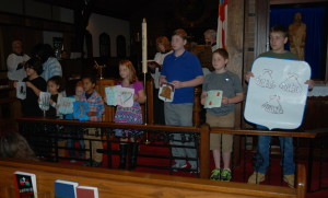 Church School Students Commemoration of All Saints Day